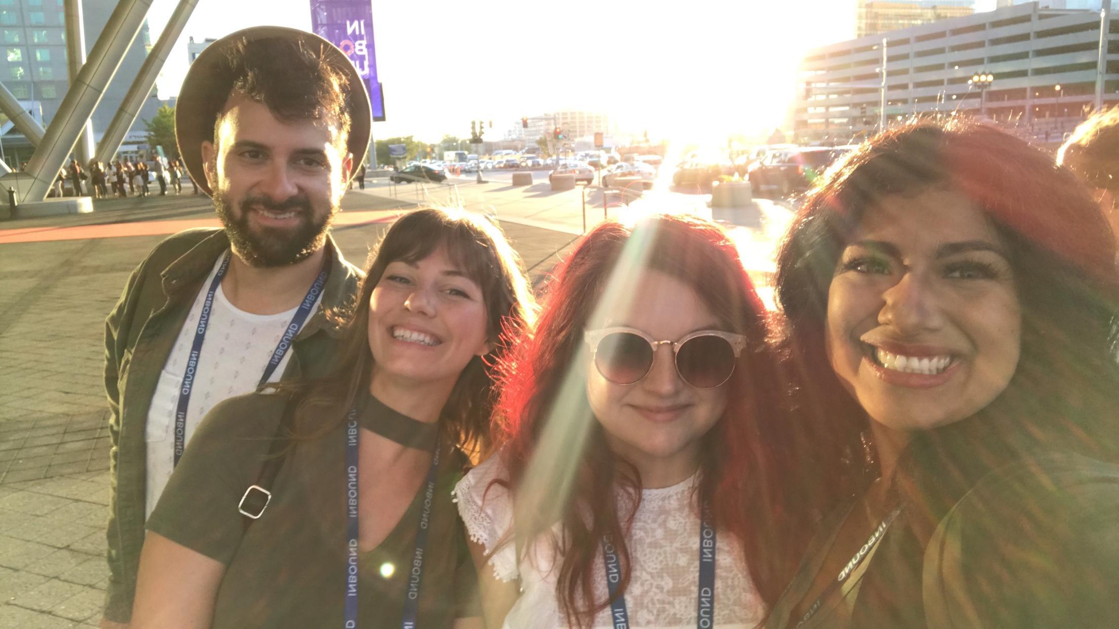 Media Garcia Team INBOUND 2017